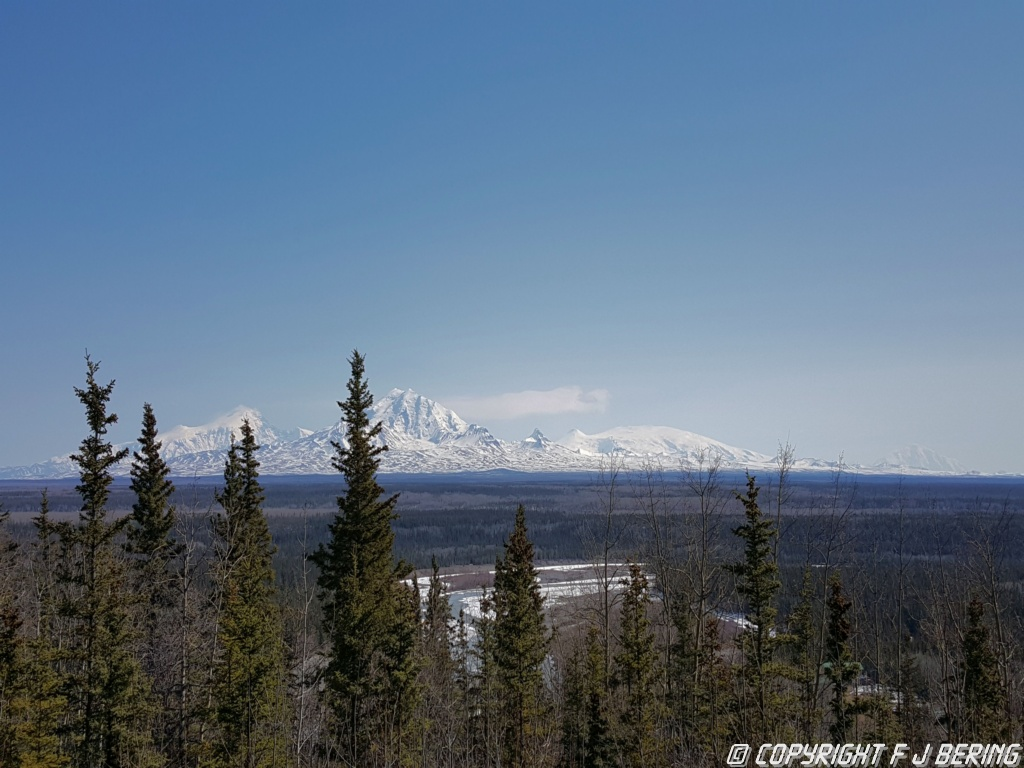 Wrangell Mountains & Copper River valley